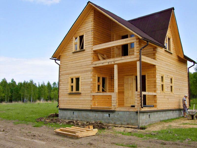 98f399a38560b Строительство дачных домов из бруса компанией