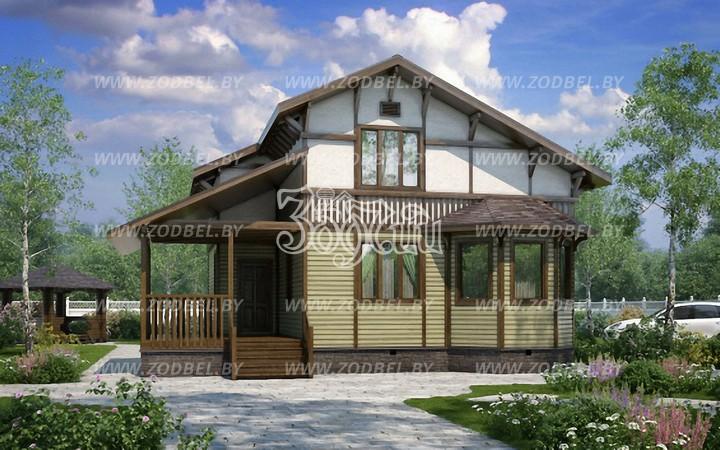 d09323de0008 Скандинавские одноэтажные дома, фото которых Вы можете увидеть в нашем  электронном каталоге, обладают уникальные теплоизоляционными свойствами, ...