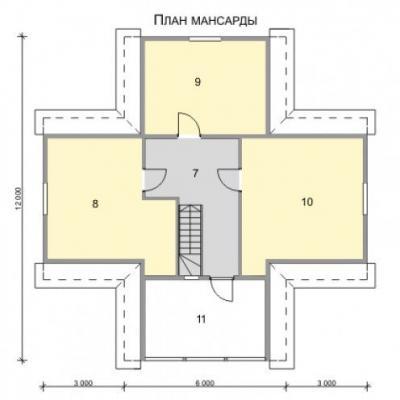 Планировка Балчуг 3К