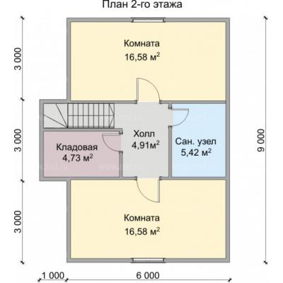 Планировка Вега 2К