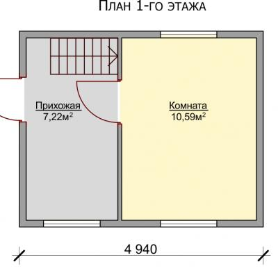 Планировка Крепыш Б 150