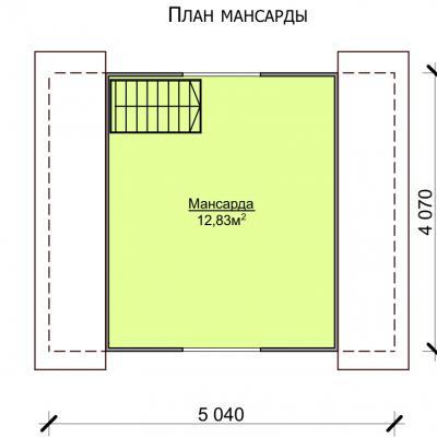 Планировка Крепыш К 150 ЛК