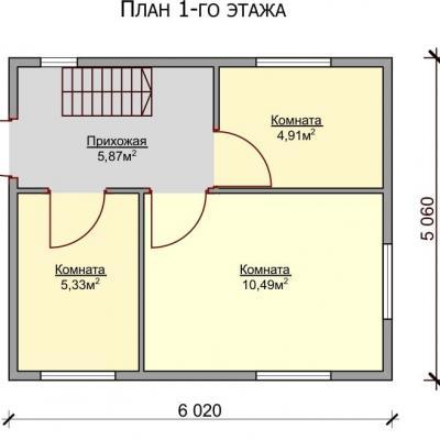 Планировка Престиж Б 150 ЛК