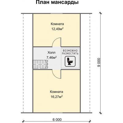 Планировка Фортуна К 150