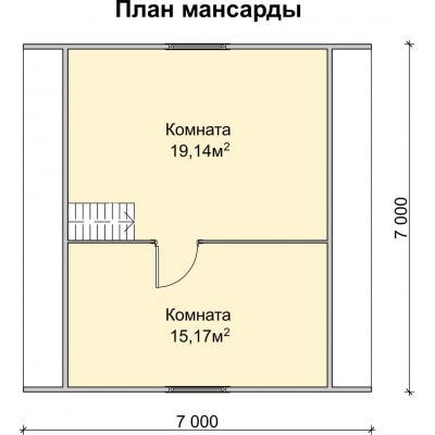 Планировка Стрелец 1 К 150