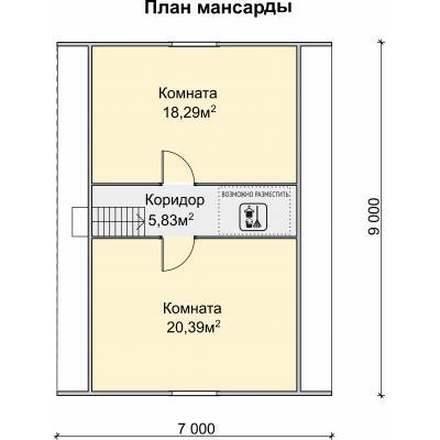 Планировка Стрелец 3 Б 150