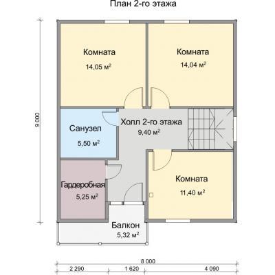 Планировка Аврора 11К
