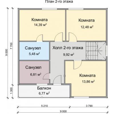 Планировка Аврора 12К