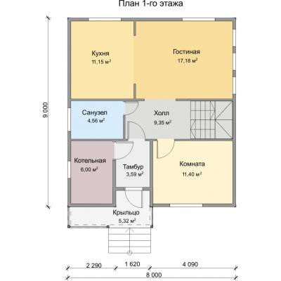 Планировка Аврора 11Б