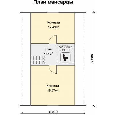 Планировка Фортуна К 150 ЛК