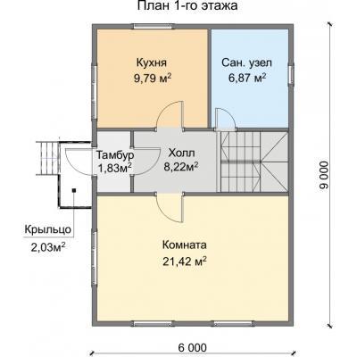 Планировка Фортуна 3 Б 150 ЛК