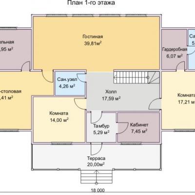 Планировка Эльбрус 3К