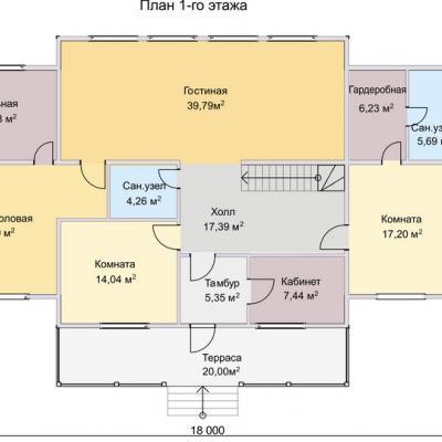 Планировка Эльбрус 3Б