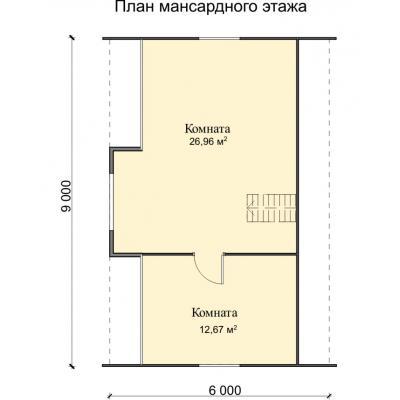 Планировка Фортуна 22 К 150