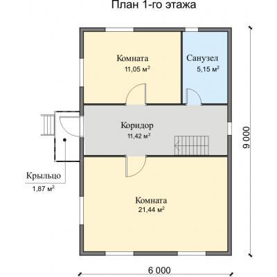 Планировка Фортуна 22 Б 150 ЛК