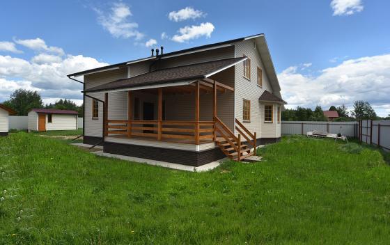 Примеры работ Зодчий - дом Альпиец 3К