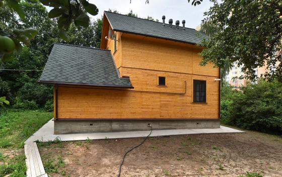 Примеры работ Зодчий - дом Канадец 1.2Б