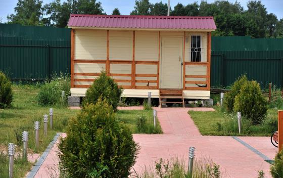 Примеры работ Зодчий - дом Бытовка 4.8×3.0 + терраса 4.8×1.0