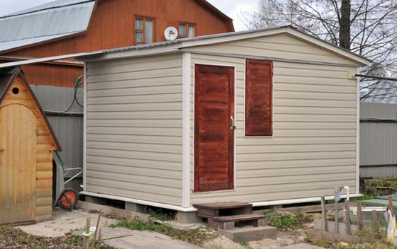 Примеры работ Зодчий - дом Бытовка 3.6*3.0