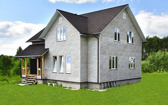 Примеры работ Зодчий - дом Канадец 3 К
